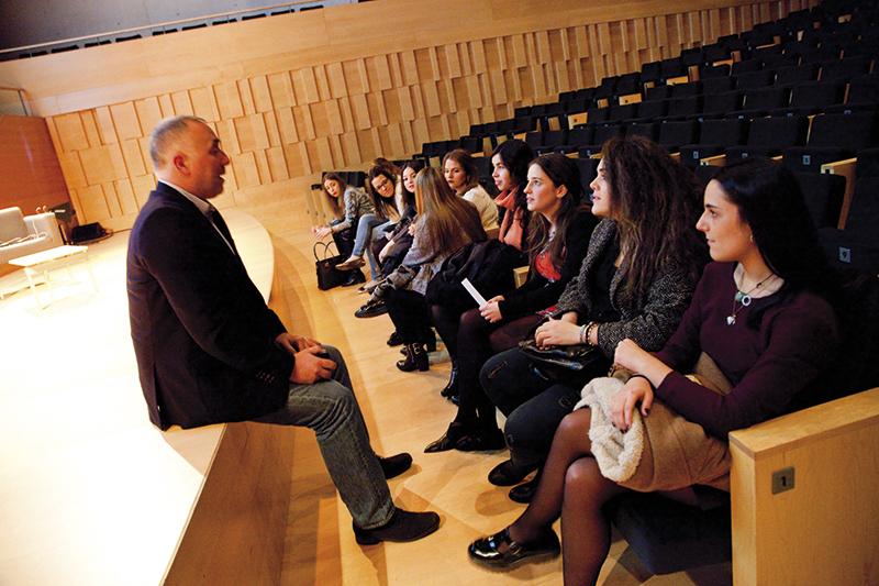 Conferencias Patrocinio infinitC. 2015 1ª Edición #EstudiantesConTalento